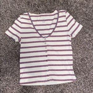 Striped AE shirt